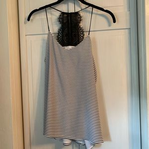 Express Barcelona Lace Tank Top